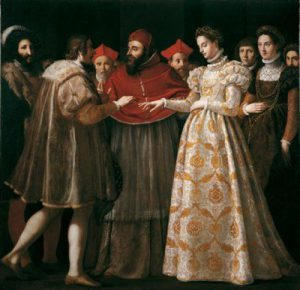 Wedding of Catherine - uffizi